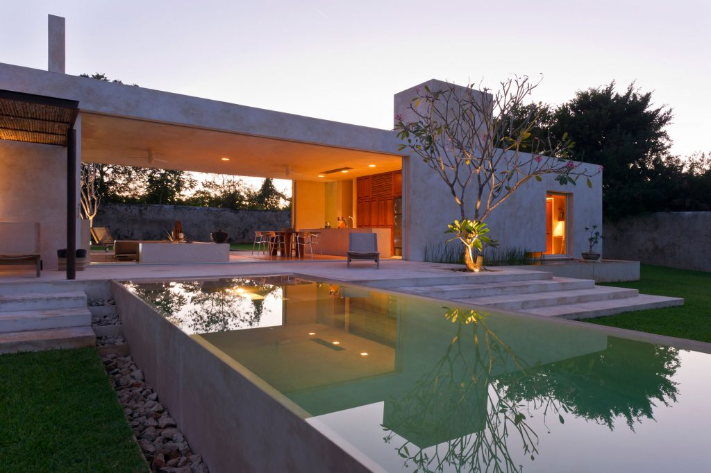 Residential Architecture: Exploring the Relationship of Interior + Exterior - Hacienda Sac Chich by Reyes Rios  Larrain Studio