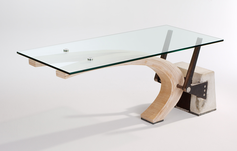 Planche Table by Marica McKeel, Studio MM, pllc