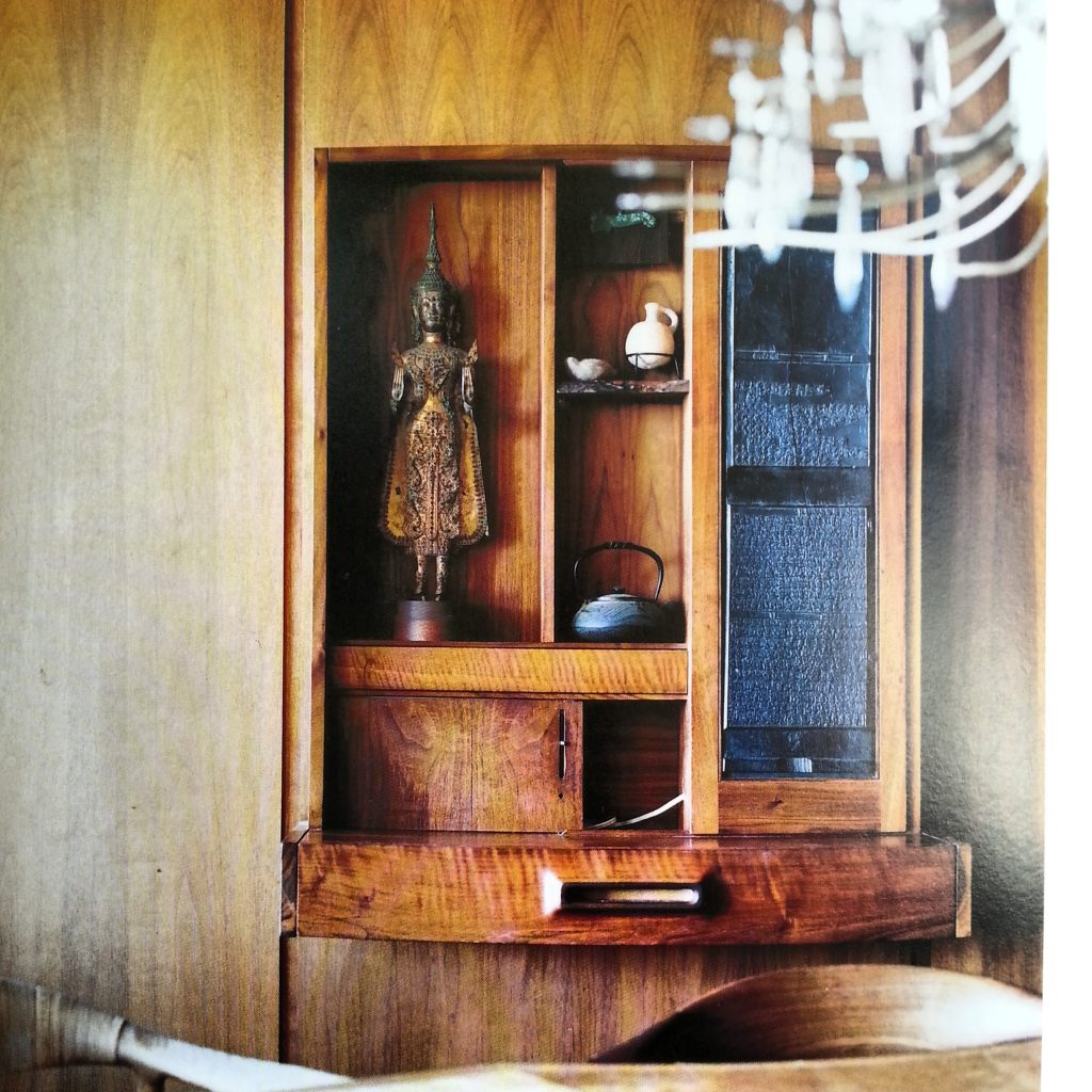 Handcrafted Modern - book by Leslie Williamson, furniture cabinet by John Kapel