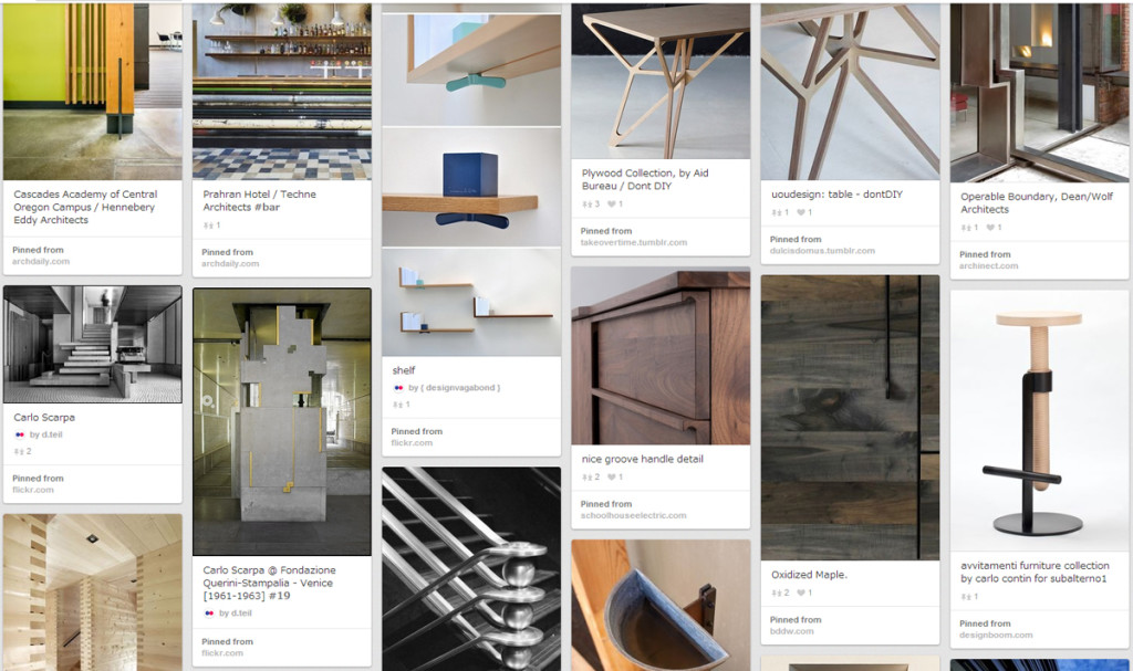 Design is in the Details: From Furniture to Architecture - Pinterest inspiration from T. Nishibayashi