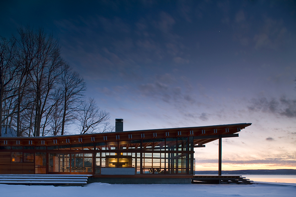 The Modern Hearth: Combs Point Residence by Bohlin Cywinski Jackson