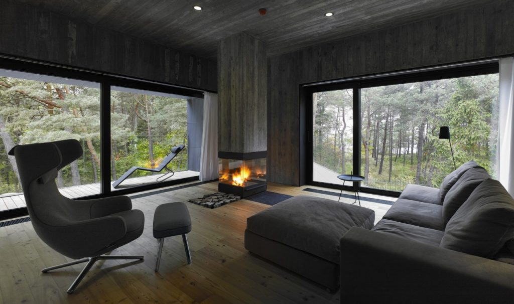 Modern Hearth: 5 Fireplaces for the Contemporary Home - Ultra Architects: house in Poland
