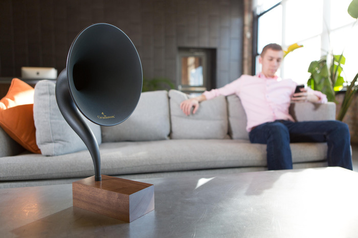 Gramovox Bluetooth Gramophone - Smart AND Sexy Gadgets for the Home