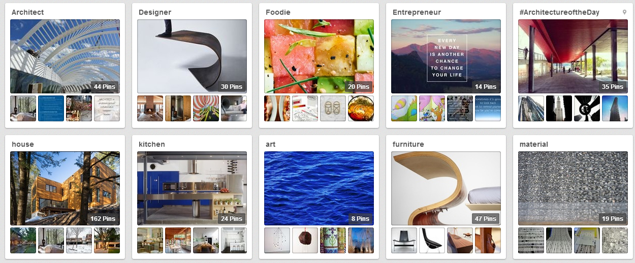 Studio MM - Pinterest Inspiration