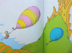 Dr Seuss - Oh the Places You'll Go- Mantra for 2014