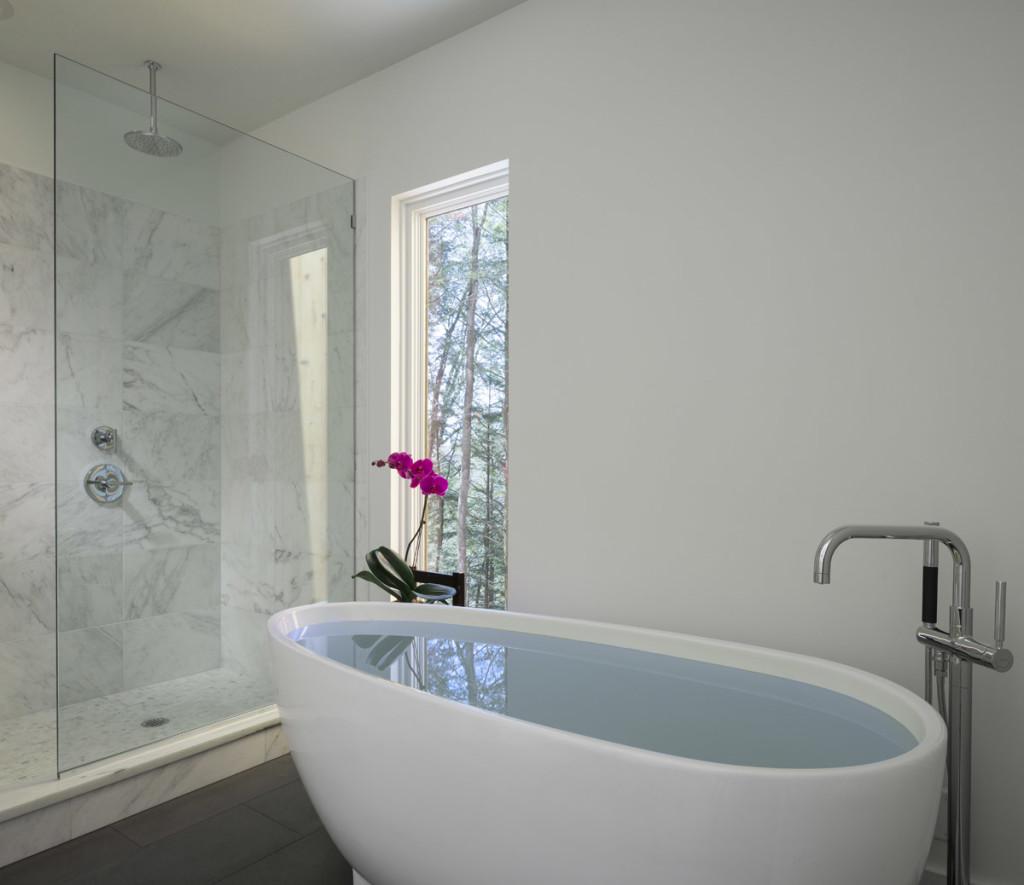 Creek House bath - residential design by Studio MM