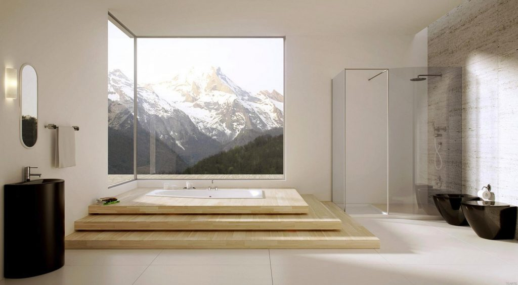 Oh that tub! - Residential Architecture post from Studio MM