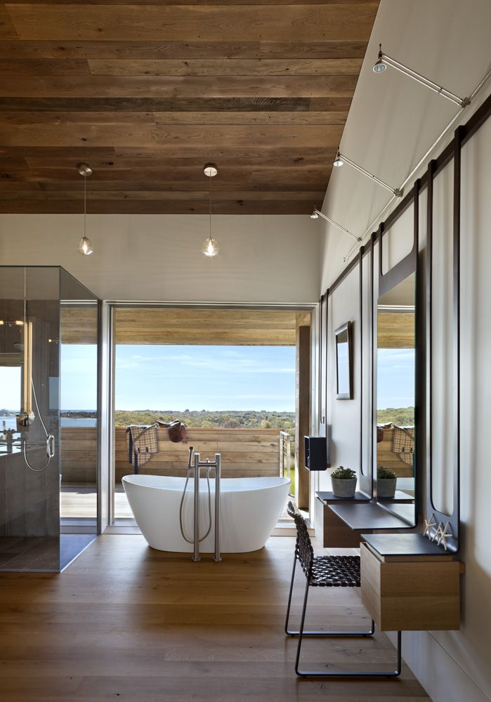 Genius Loci house by Bates Masi - Oh that tub!