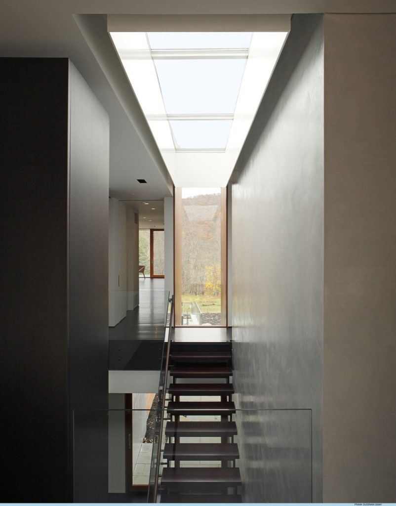 Skylights natural light in the contemporary home studio for Architectural skylights