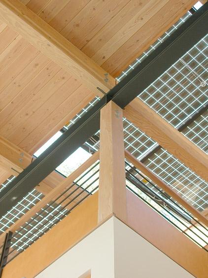 Feldman Architecture Ocho House photovoltaic skylight