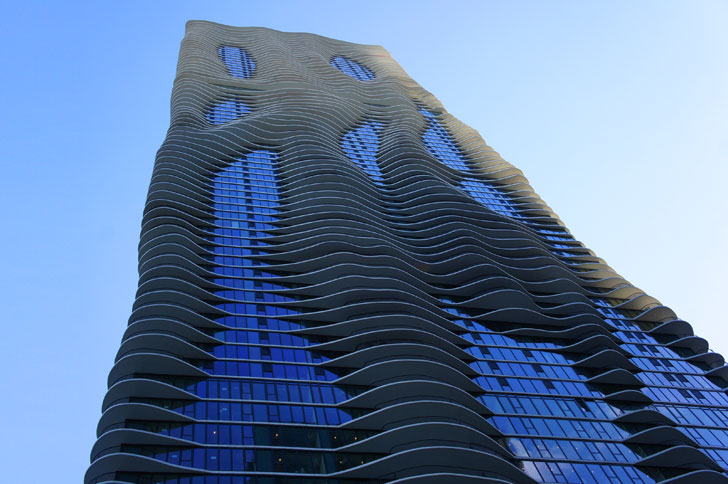 Aqua Tower by Studio Gang Architects - Women in Architecture