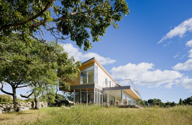 House in Marthas Vineyard by Toshiko Mori - Women in Architecture