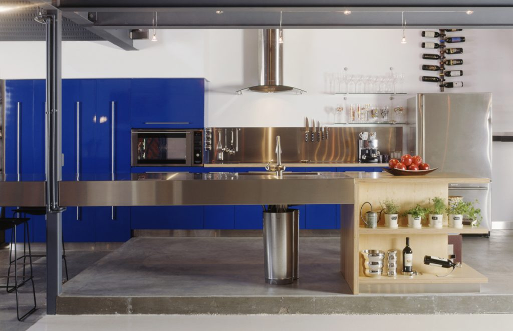 Residential Design Inspiration: A Pop of Color in the Kitchen