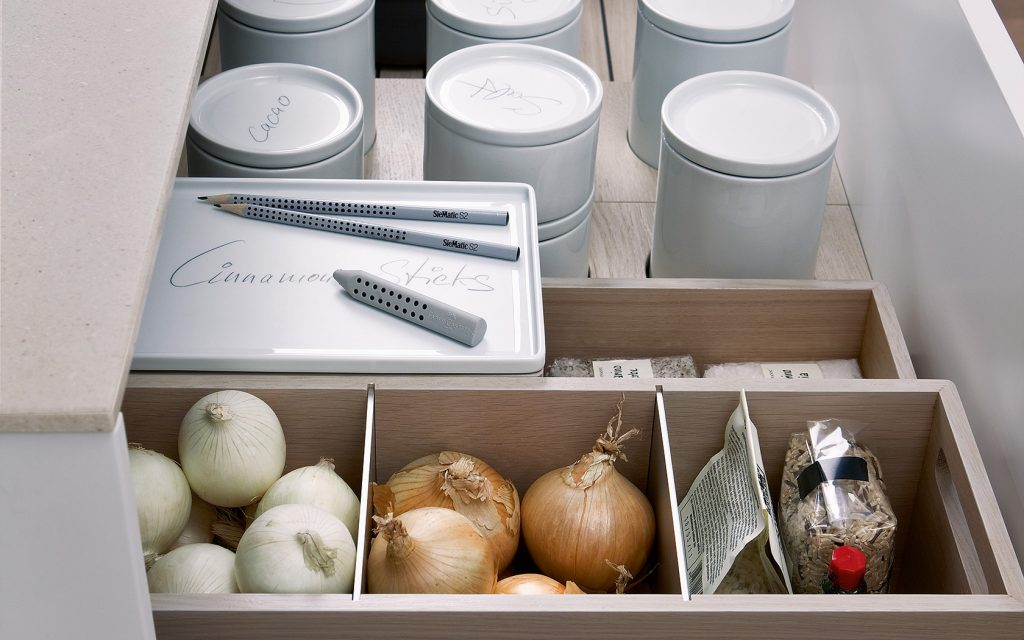 Design is in the Details: Modern Kitchen- organization