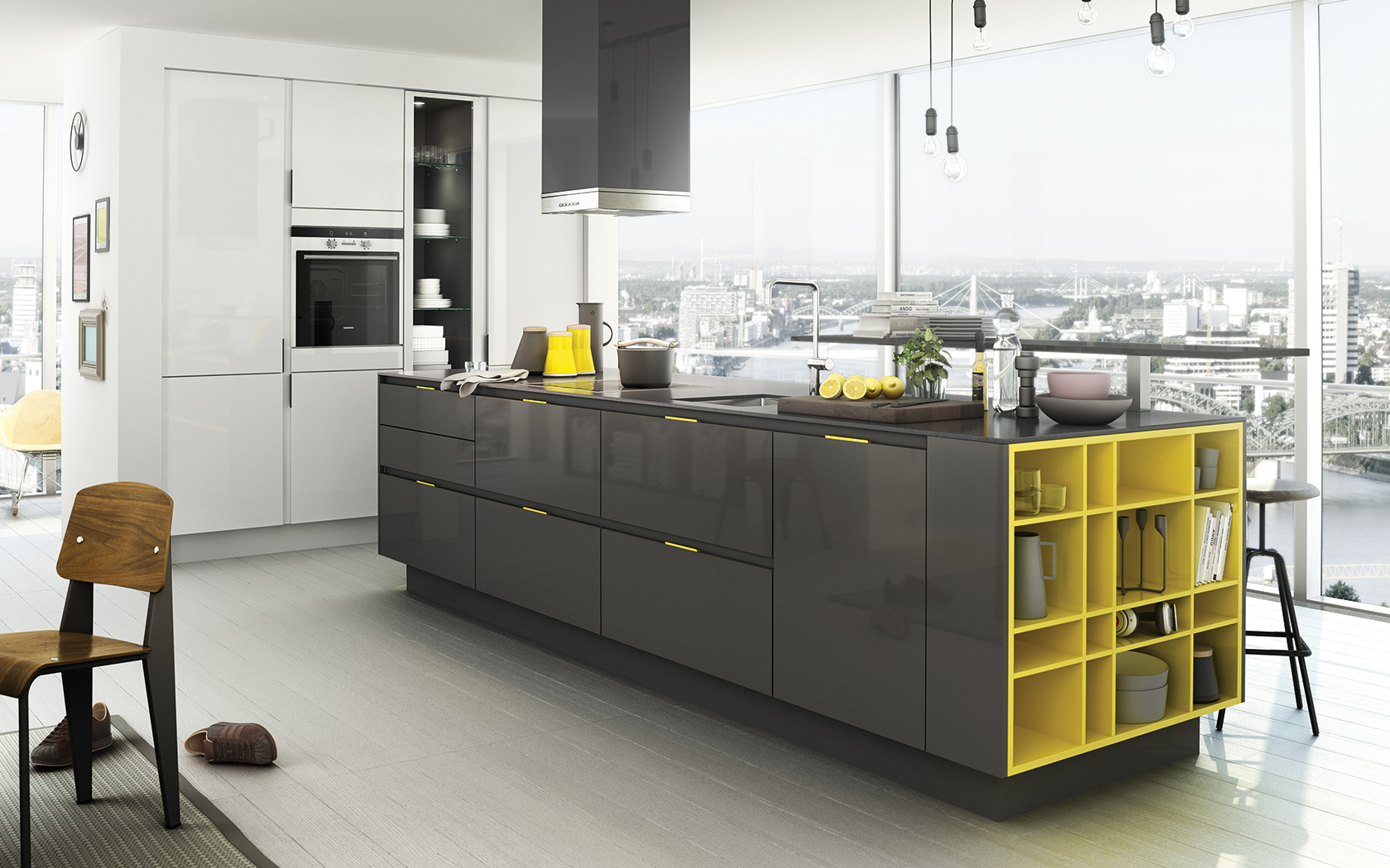 Residential Architecture: Kitchen Design With Color