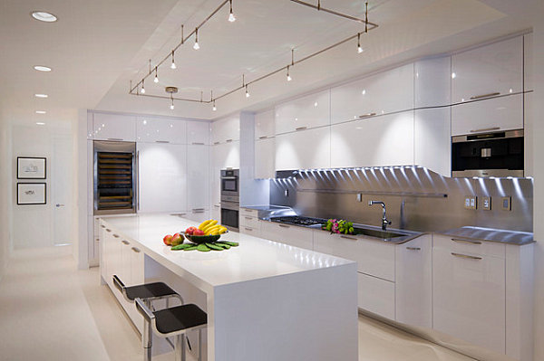 Modern Kitchen Design: All White Kitchens
