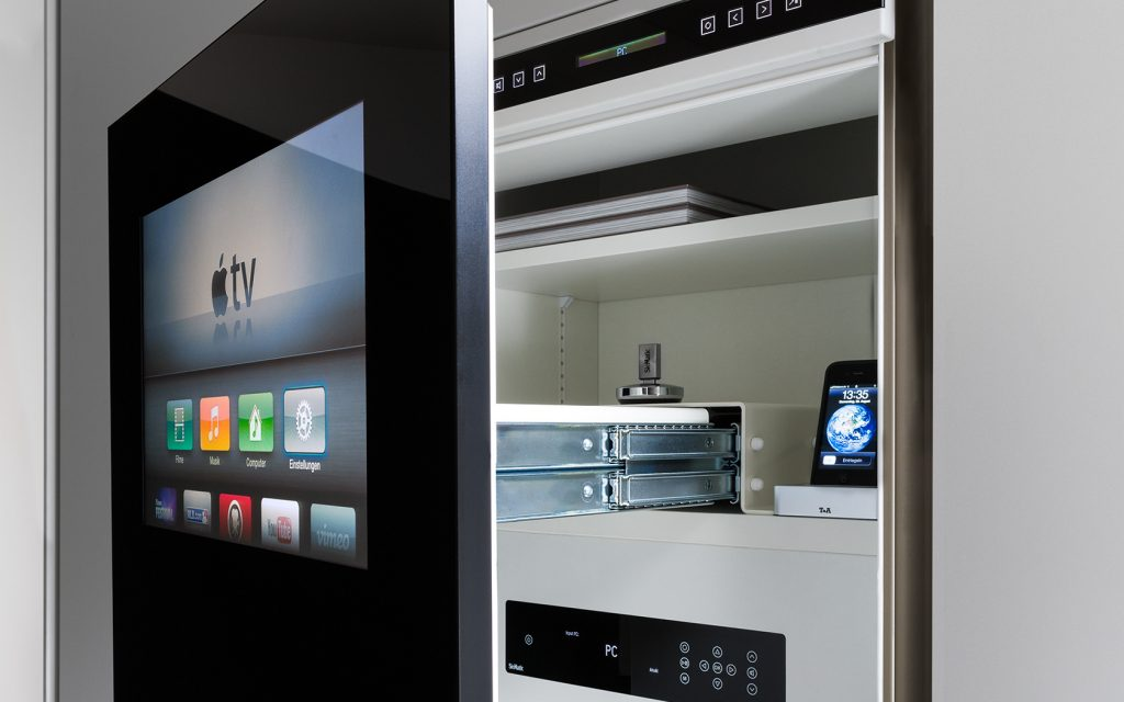 Design is in the Details: SieMatic multimedia cabinets