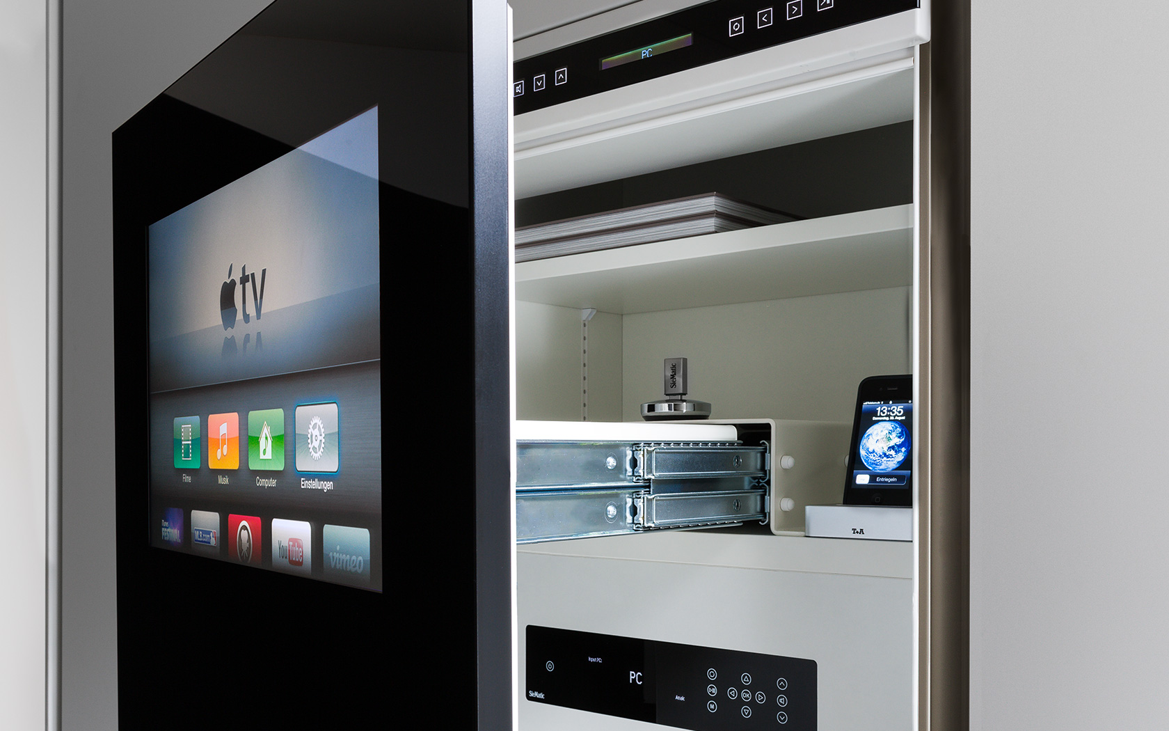 design is in the details siematic multimedia cabinets