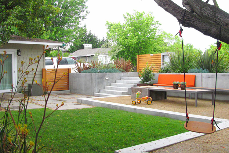 Home inspiration modern garden design studio mm architect - New contemporary home designs inspirations ...
