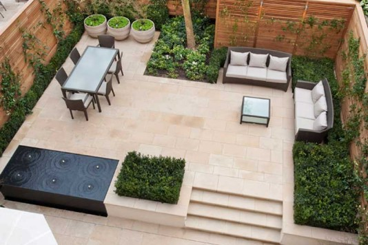 Modern Garden Design - urban patios