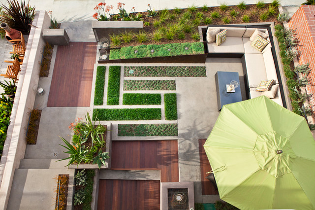 Home inspiration modern garden design studio mm architect for Home garden design houzz