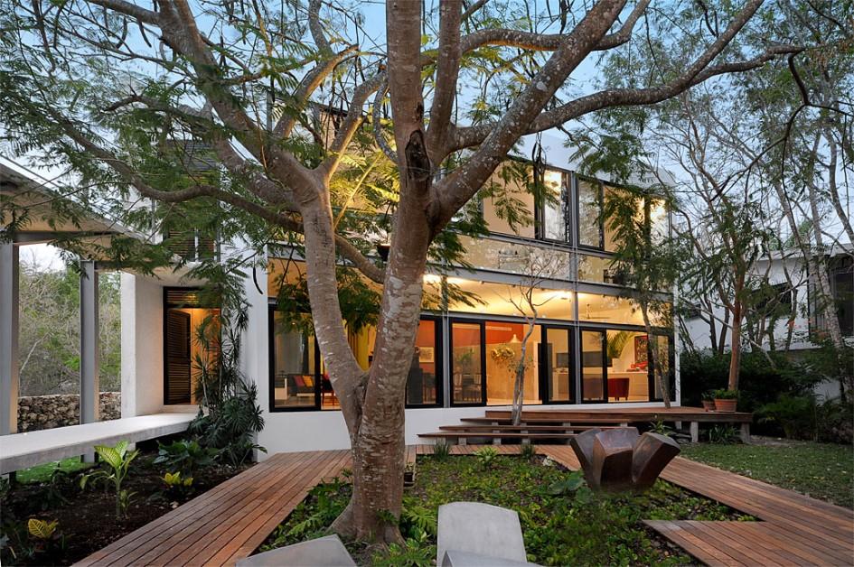 Modern Residential Garden Design Ideas