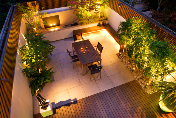 Home inspiration modern garden design studio mm architect for Urban garden design ideas