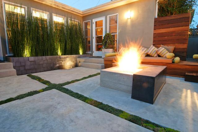 Modern patio design- modern home isnpiration