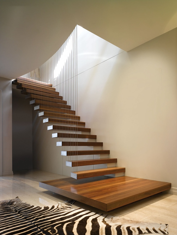 Design is in the details 10 cantilevered stair designs for Escaleras para interiores