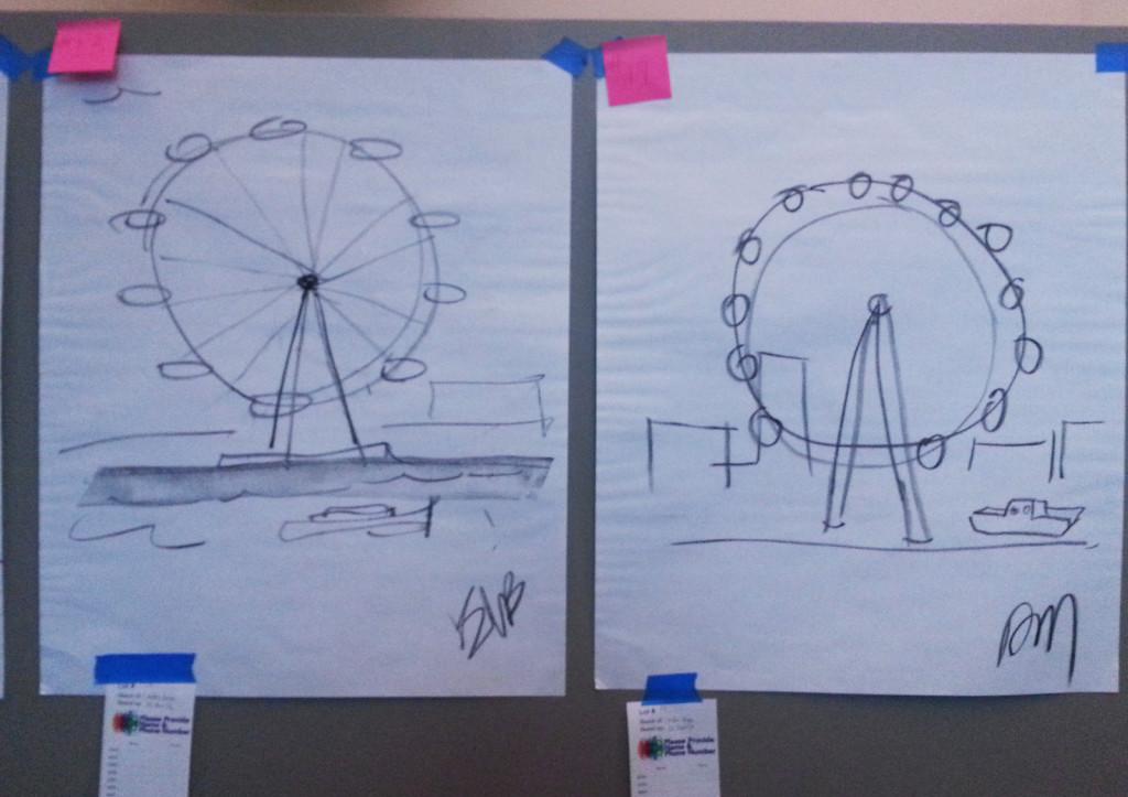 Guess-A-Sketch: London Eye