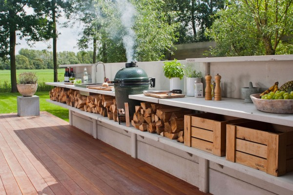 Modern Outdoor Kitchen Design - modular outdoor kitchens