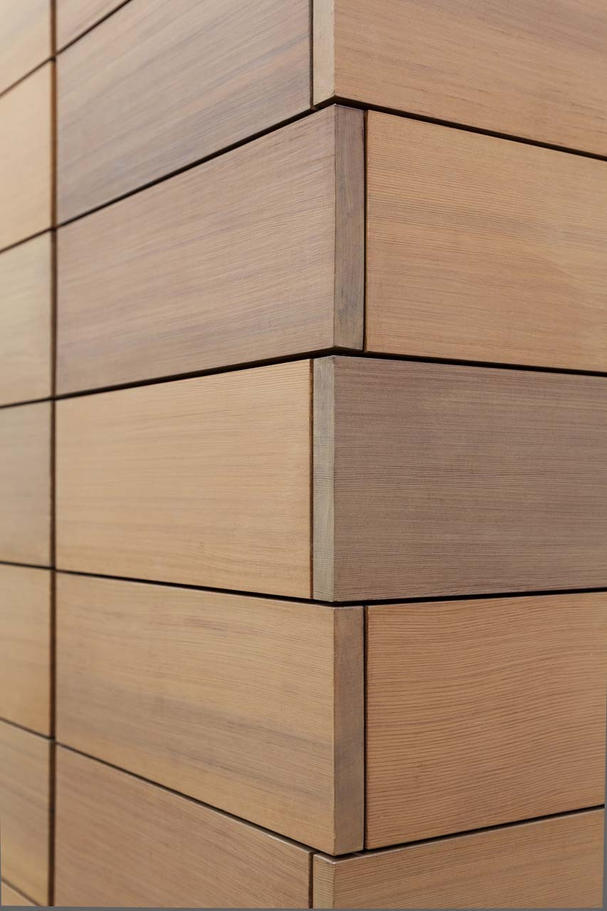 Wood Wall Cladding Exterior : Design is in the details modern wood cladding