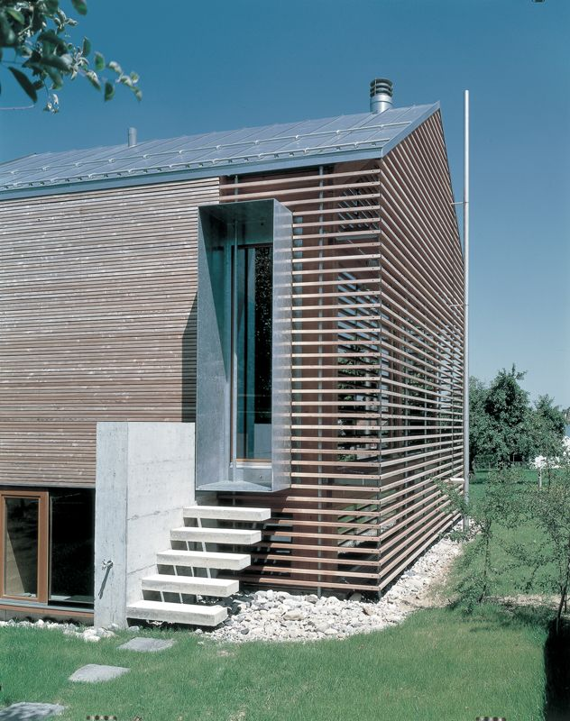 Wood Cladding Details : Design is in the details modern wood cladding