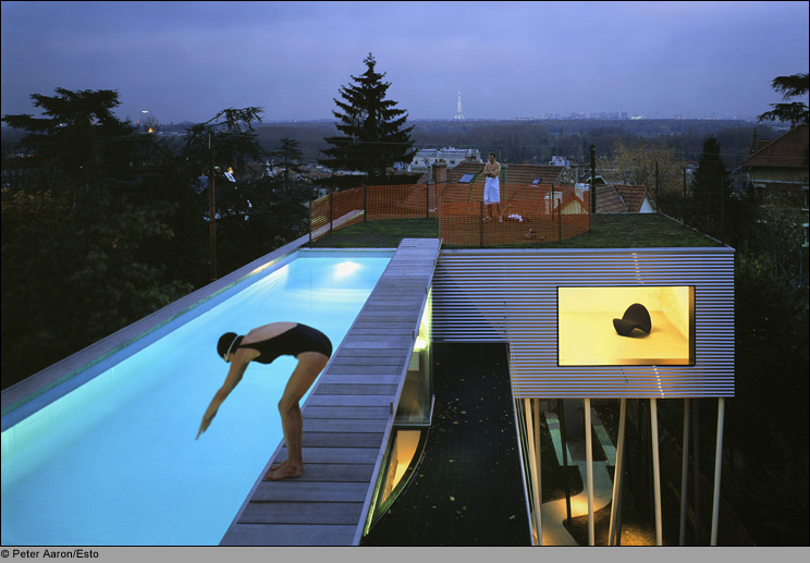 Rem Koolhaas, Villa Dall'ava - Contemporary Pool Design