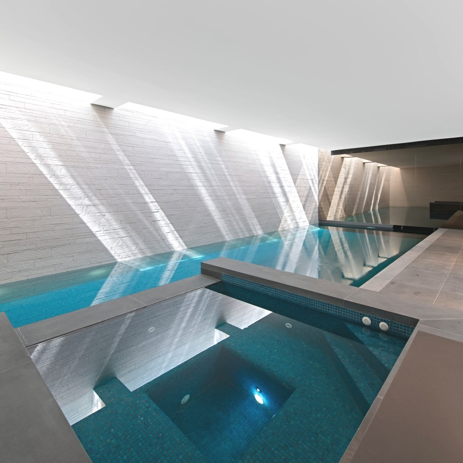 Modern Indoor Pool Design - Home Design Inspiration