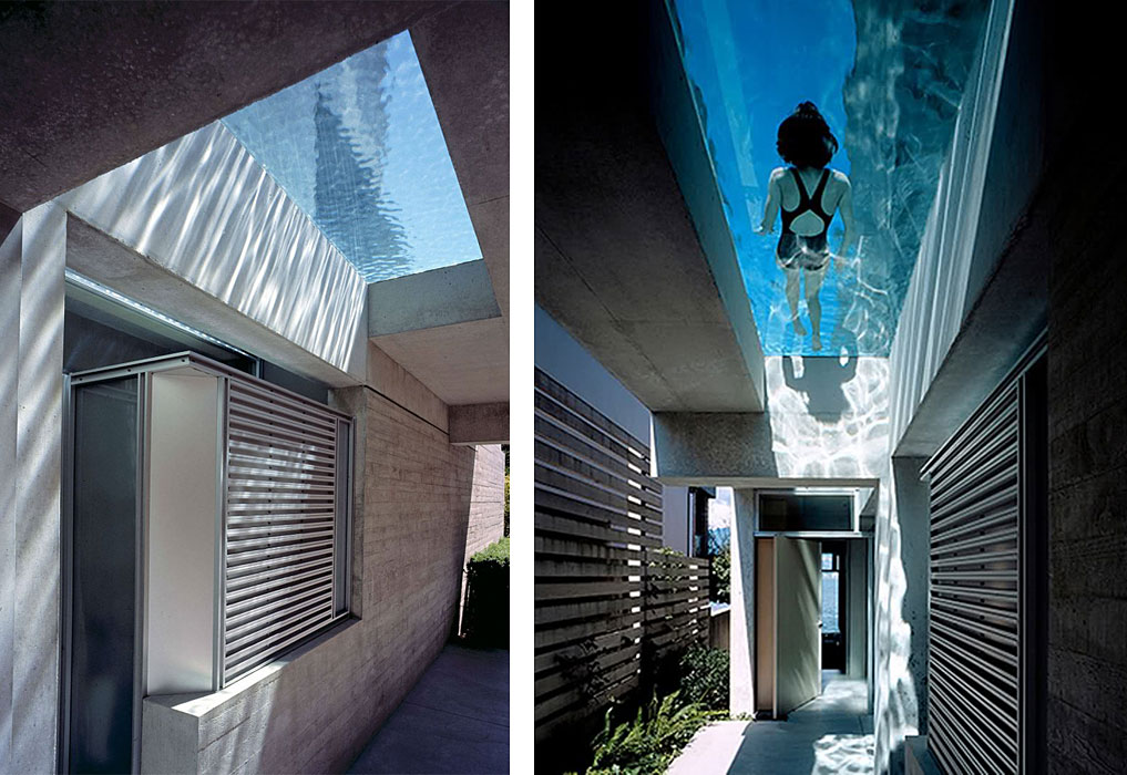 Contemporary Pool Ideas - Shaw House by Patkau Architects