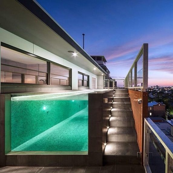 Home Design Inspiration: Contemporary Pool Ideas - Studio MM Architect