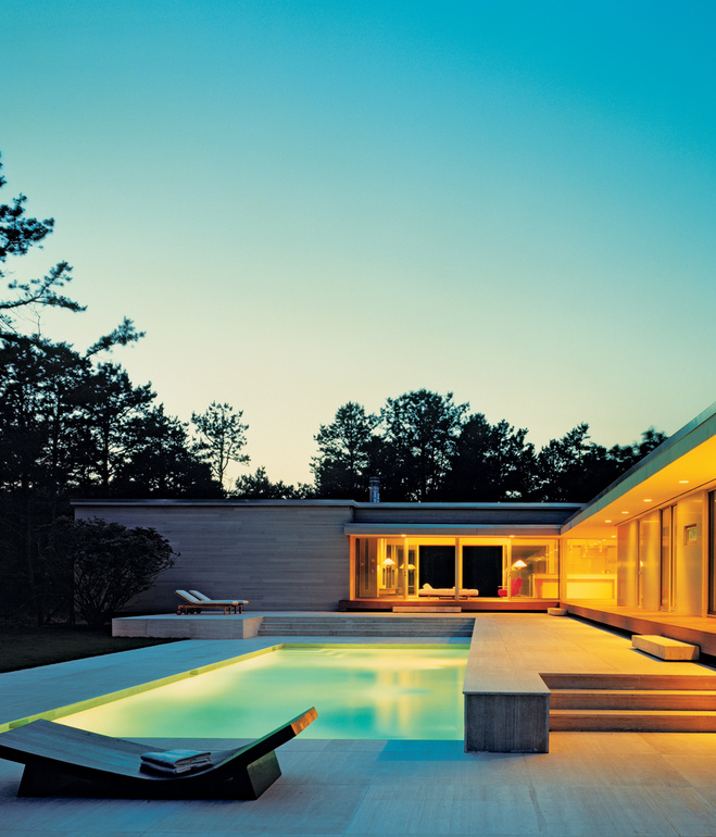 Contemporary Pool Design - Sagaponac House 43