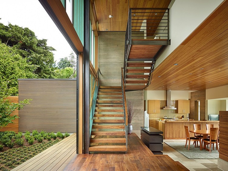 Courtyard Home Designs design inspiration: the modern courtyard house - studio mm architect