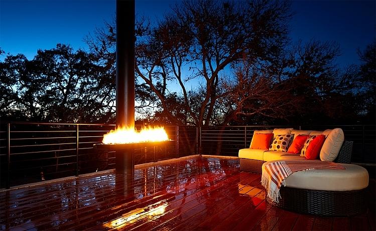 5 Modern Outdoor Fireplaces: Design inspiration