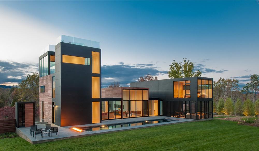 4 Springs Lane House by Robert M Gurney Architect