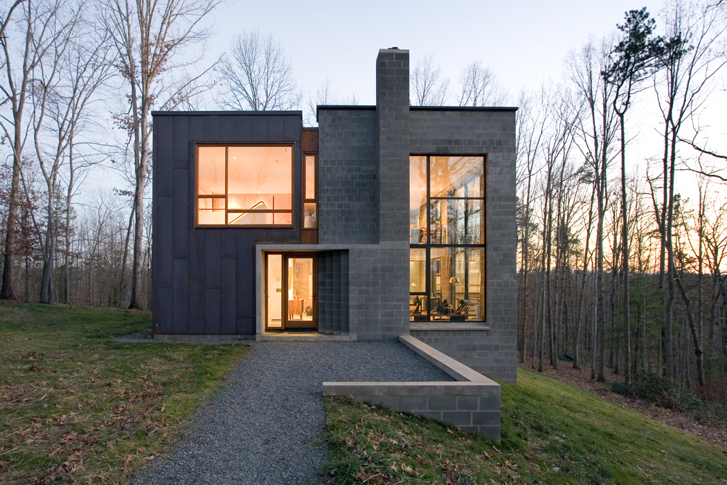 Celebrating residential architecture houseoftheday for Modern contemporary house plans for sale