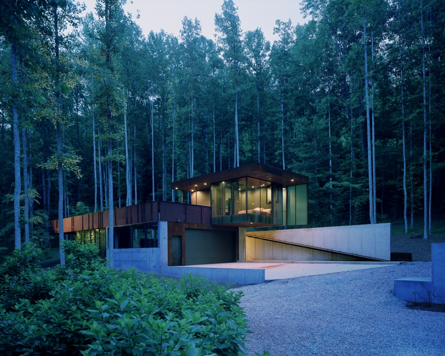 Mountain Tree House by Mack Scogin Merrill Elam Architects