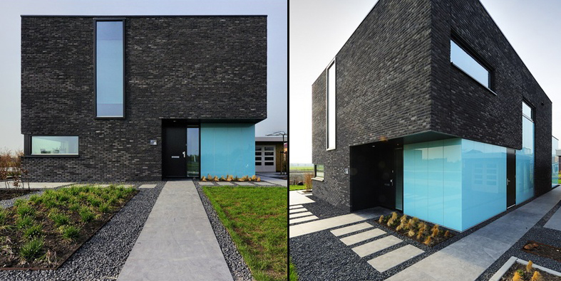 Modern Exterior Cladding Brick Block Stone Studio Mm
