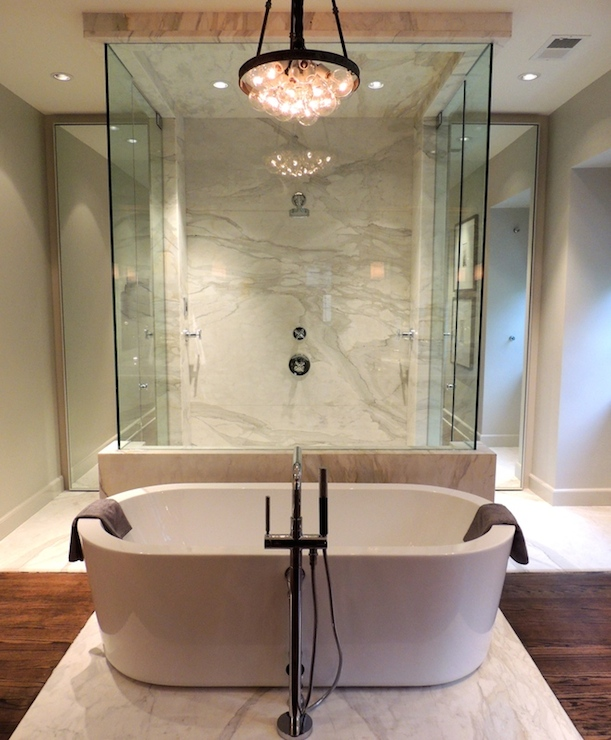 Modern Design Inspiration: Walk Through Showers