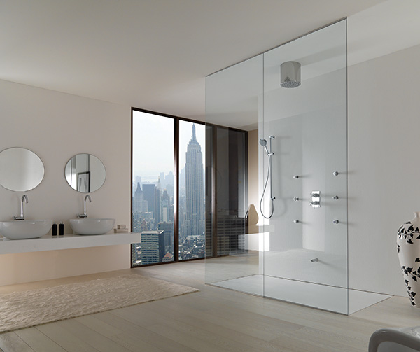 Design Inspiration: Modern Walk Through Shower