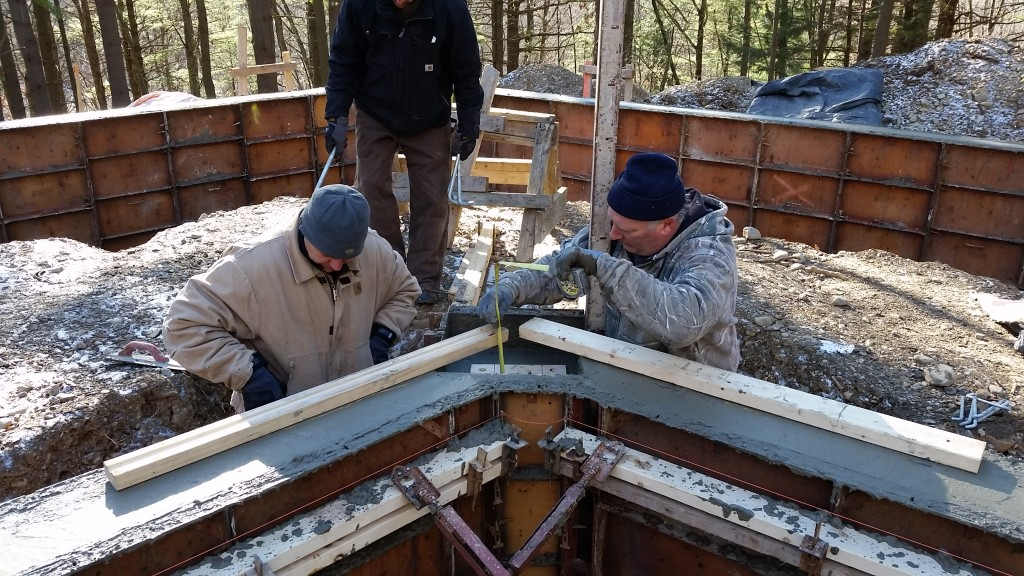 Lantern House Construction Update: Pouring Foundations
