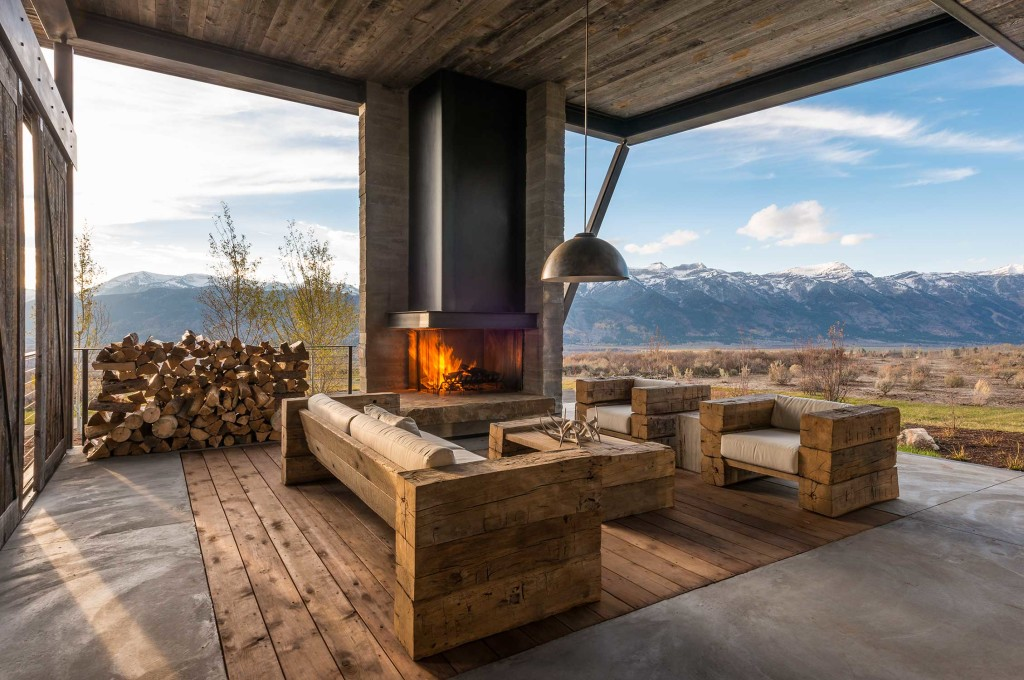 Modern Residential Architecture: Design Inspiration - Modern Fireplaces