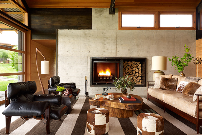 Residential Design Inspiration: Cozy Modern Fireplaces