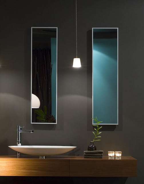 Modern Design Inspiration: Dark Gray Bathrooms